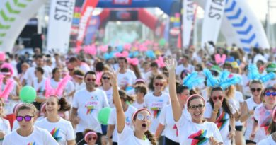 The Color Run: una corsa tra colori e musica al Parco Experience.
