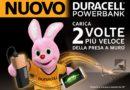 Cellulare sempre carico con Duracell Powerbank, anche nei club Virgin Active.