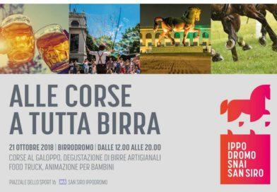 Cavalli e birra in festa all'Ippodromo Snai San Siro. @milanogaloppo  @milano_galoppo milano_galoppo