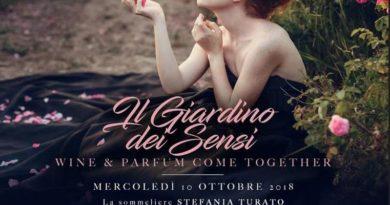 """Si celebra al Just Cavalli la Milano Wine Week con """"Il Giardino dei Sensi""""."""