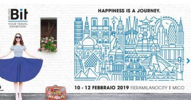 Happiness is a Journey: al via la BIT 2019.