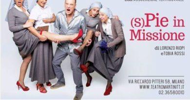 (S)pie in missione, al Teatro Martinitt dal 16 maggio 2019.