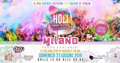 Holi Dance Festival Milano: divertimento allo stato puro!