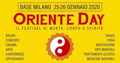 Oriente Day: due giorni all'insegna del benessere di mente e corpo.
