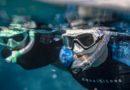 La maschera da snorkeling e' VERSA