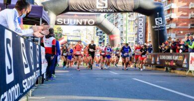In 2700 hanno corso la Salomon Running Milano.
