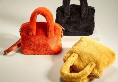 La borsa piu' chic è in pelliccia ecologica.
