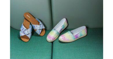 Scarpe estive, scarpe colorate.