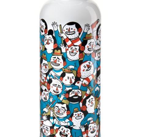 Bottiglie termiche dallo spirito pop.