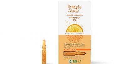 Vitamina C e texture golose per un viso radioso.