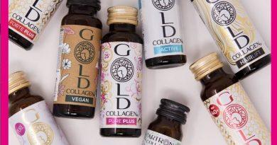 Gold Collagen® compie 10 anni.